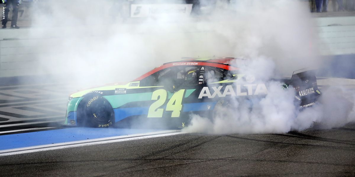Byron gives NASCAR another surprise winner at Homestead