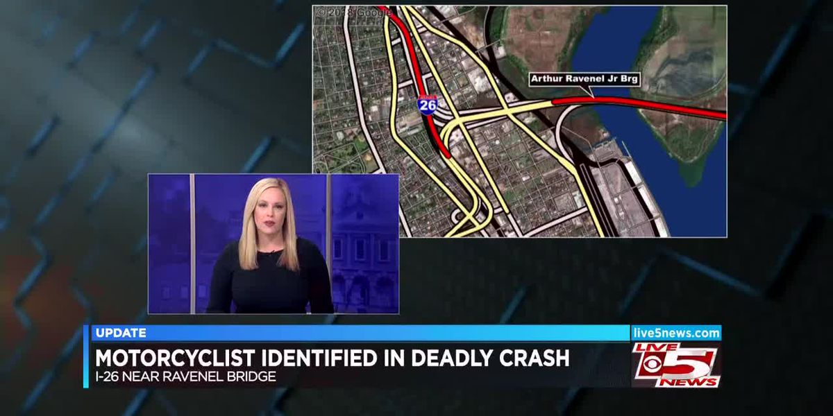VIDEO: Coroner identifies motorcyclist killed in I-26 crash