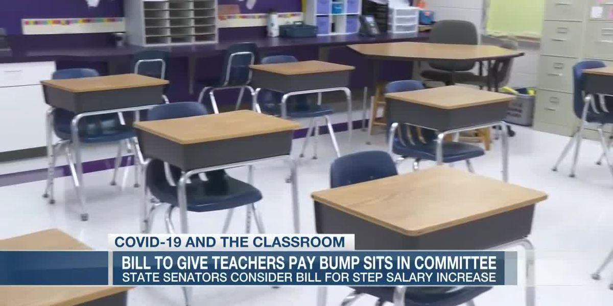 VIDEO: Bill to give teachers pay raise sits in SC Senate committee