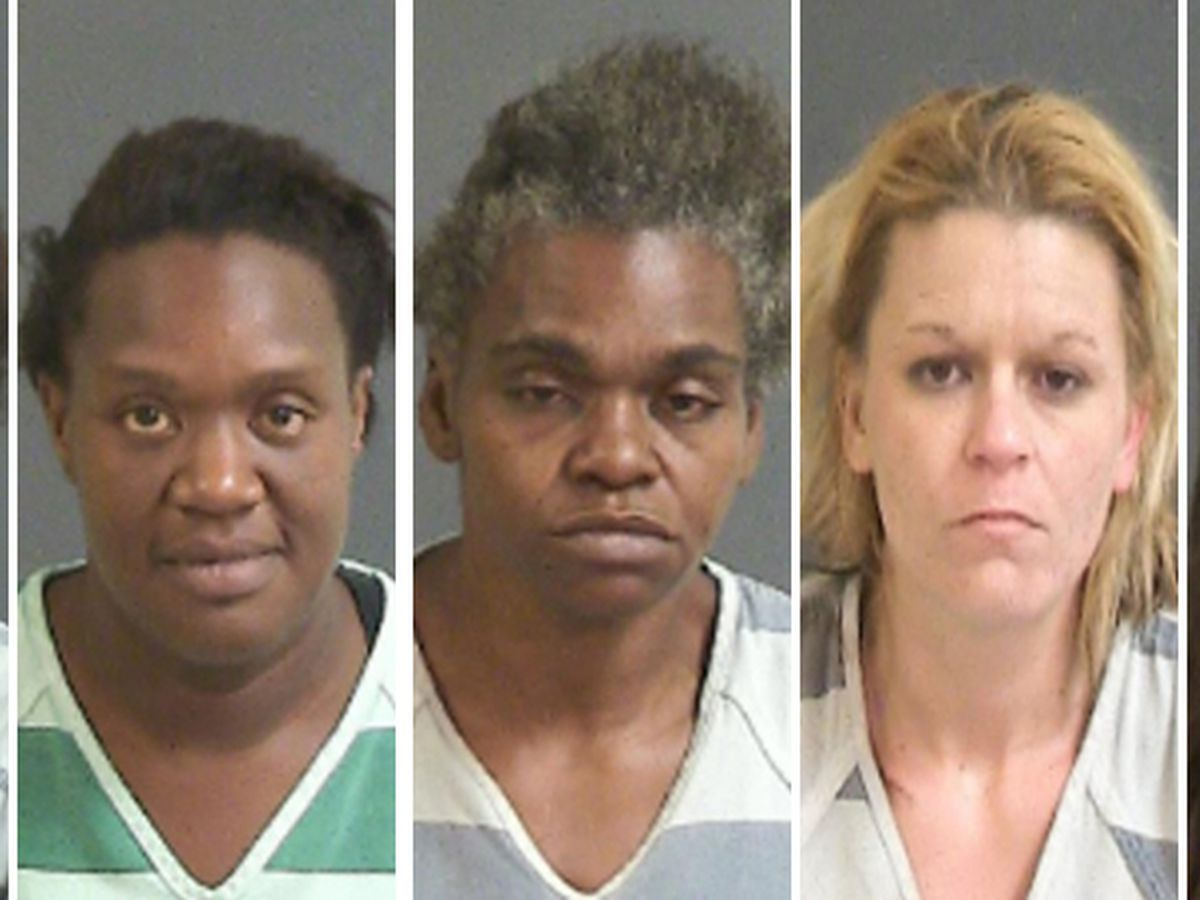Five women arrested in prostitution bust in North Charleston