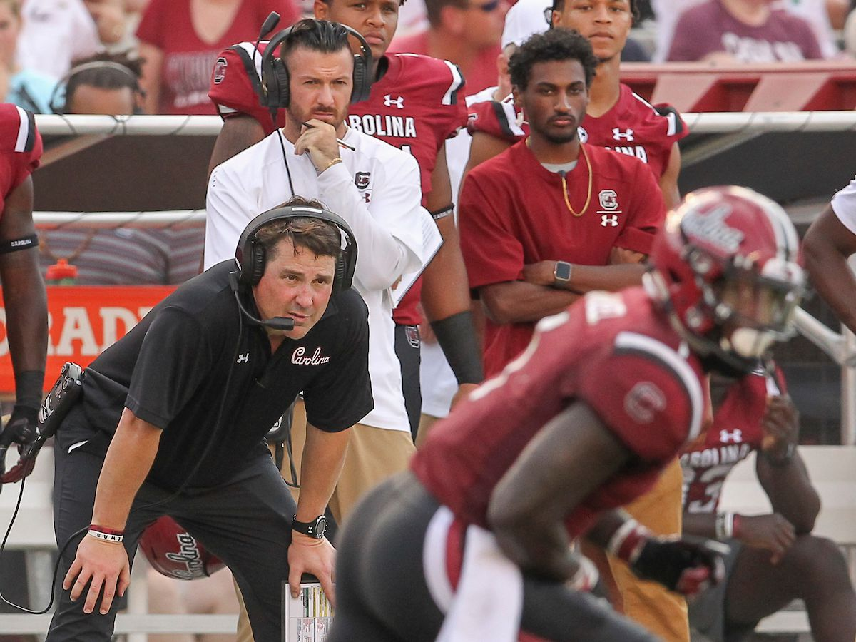 South Carolina extends contract for Muschamp, assistants