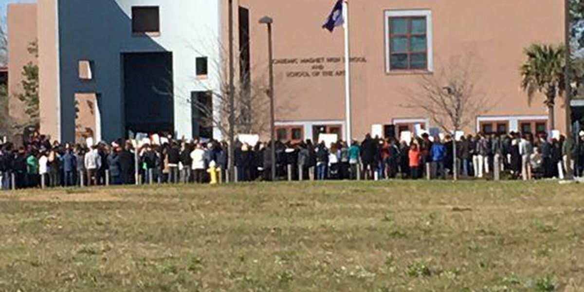 School students across Lowcountry participate in National Walkout Day