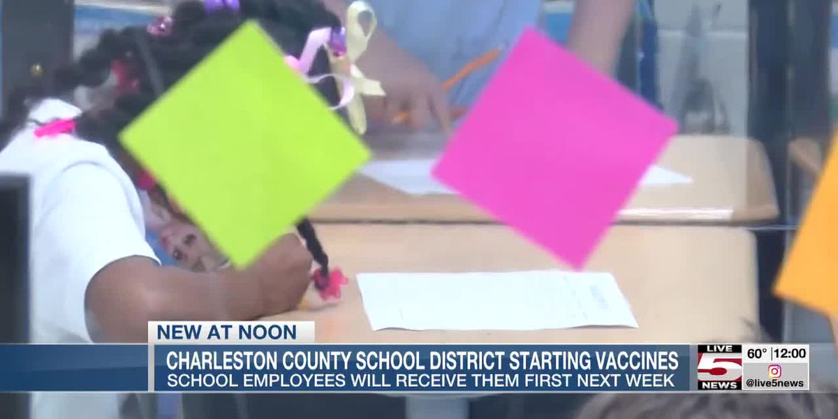 VIDEO: Charleston Co. Schools plan eLearning while teachers, staff are vaccinated