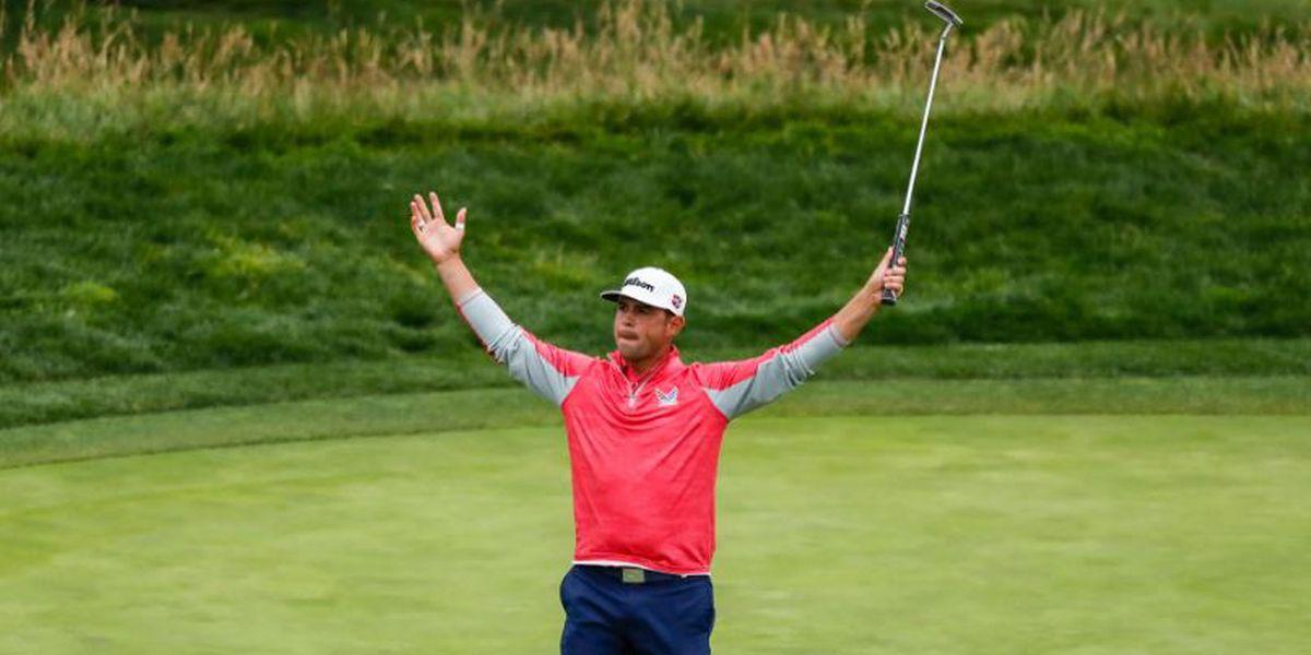 Gary Woodland wins US Open at Pebble Beach