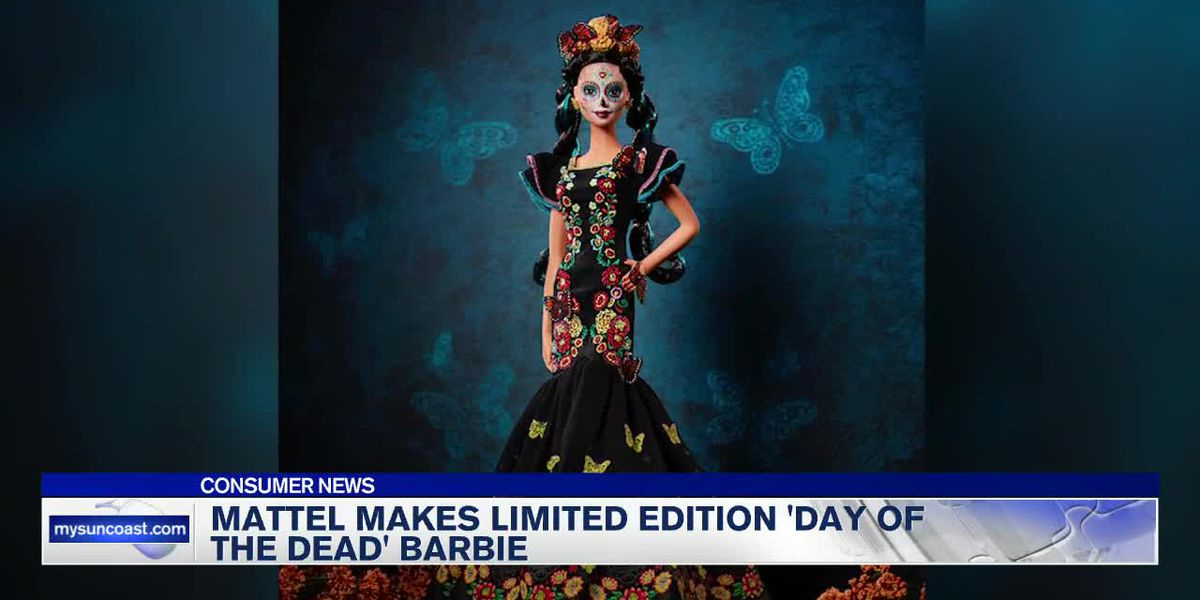 Barbie doll coming to the shelves that will honor Day of the Dead