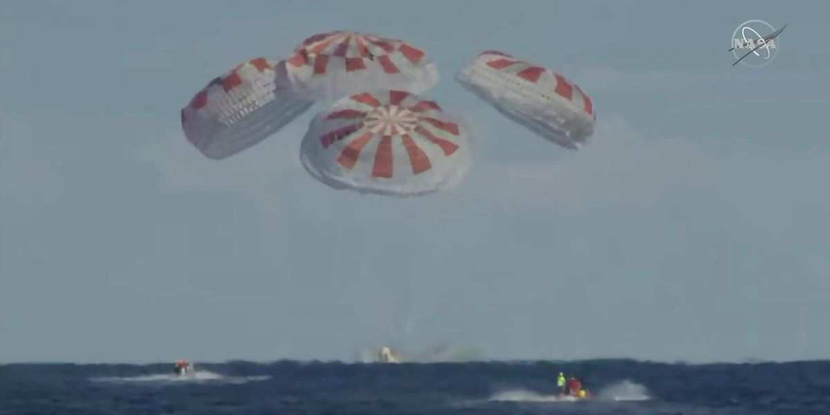 Sonic boom reported across Lowcountry Friday morning may be linked to SpaceX splashdown