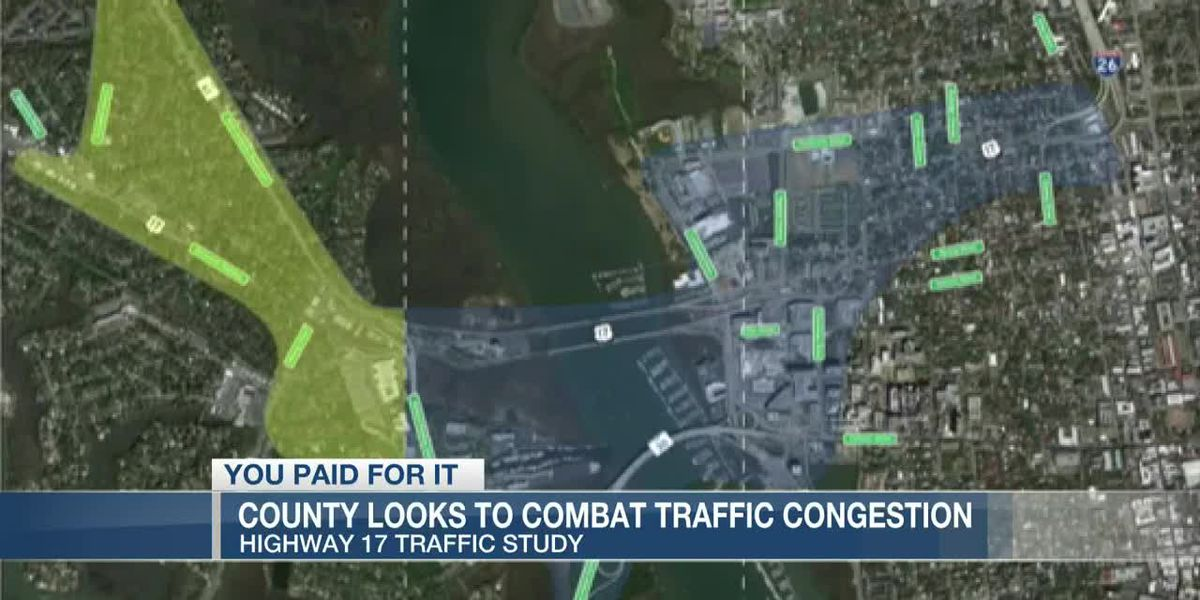 VIDEO: You Paid For It: Traffic Congestion Study of Hwy. 17