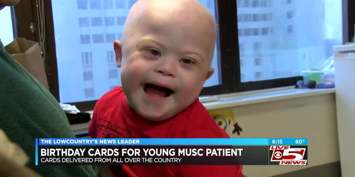 VIDEO: S.C. family asking for birthday cards for boy fighting cancer