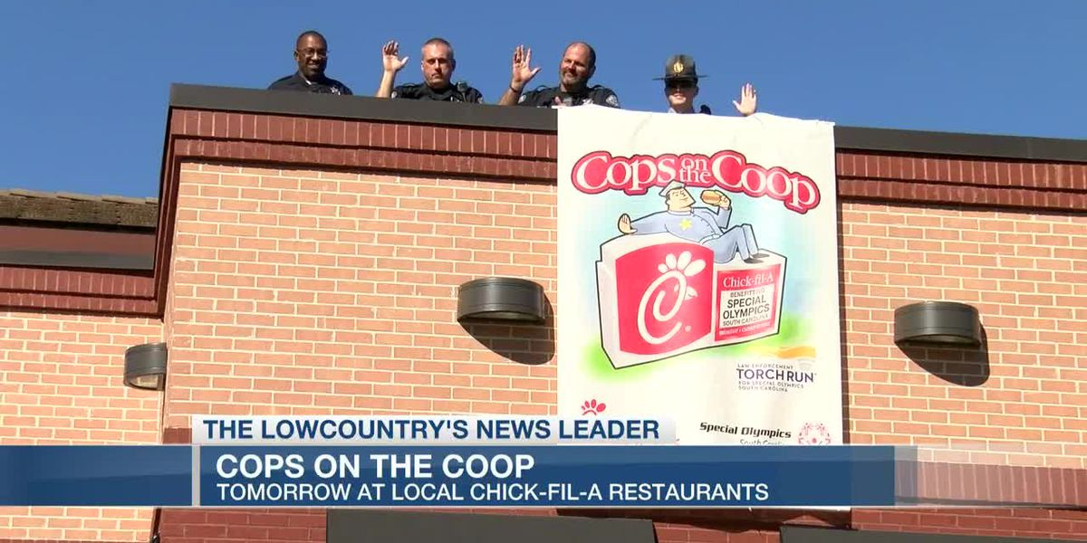 VIDEO: Cops on the Coop raise money for Special Olympics South Carolina