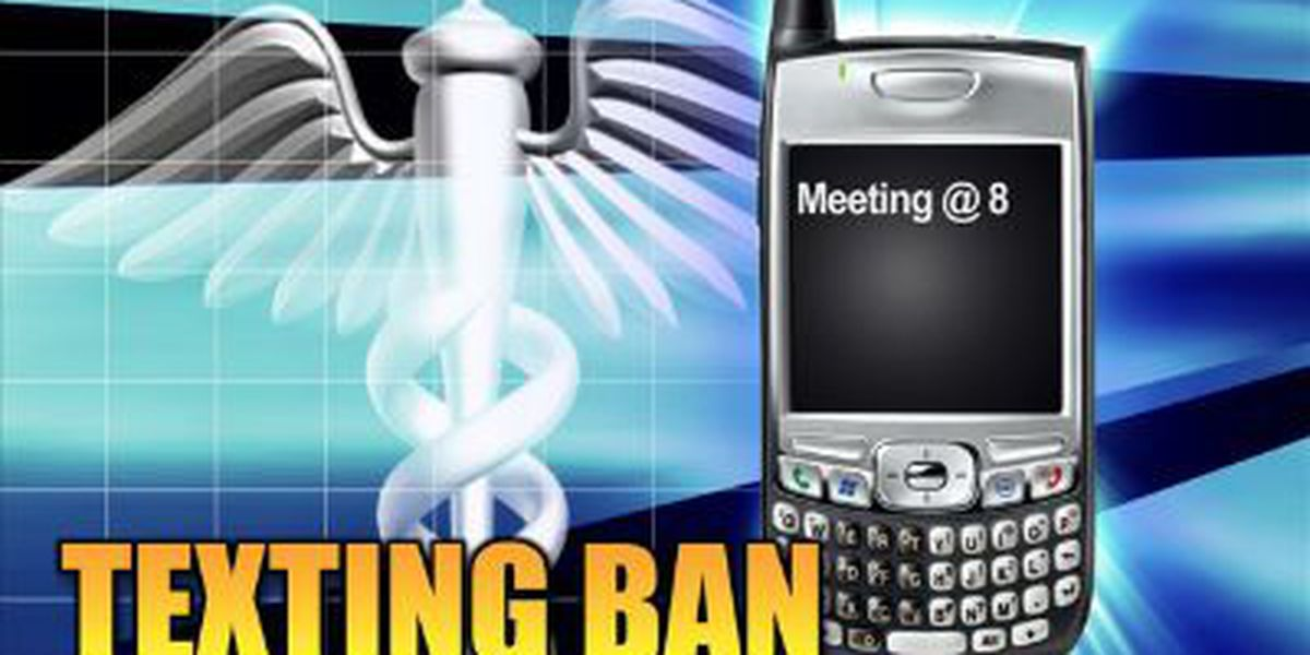 Beaufort County bans texting while driving