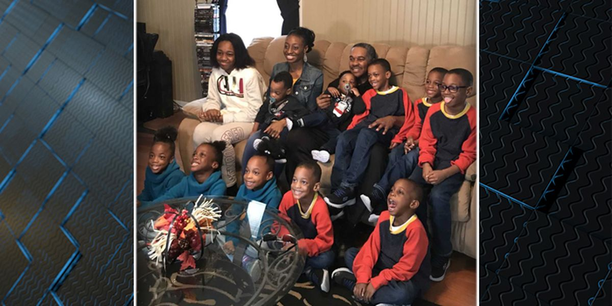 Kingstree native and husband have 11 children, and counting