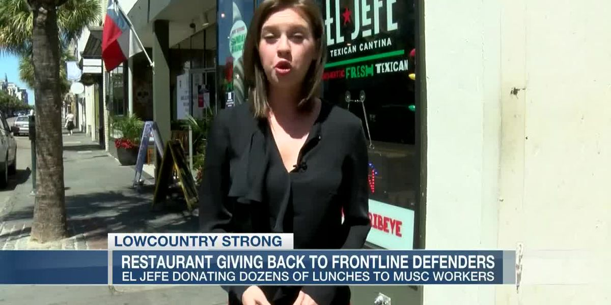VIDEO: Restaurant giving back to front line defenders
