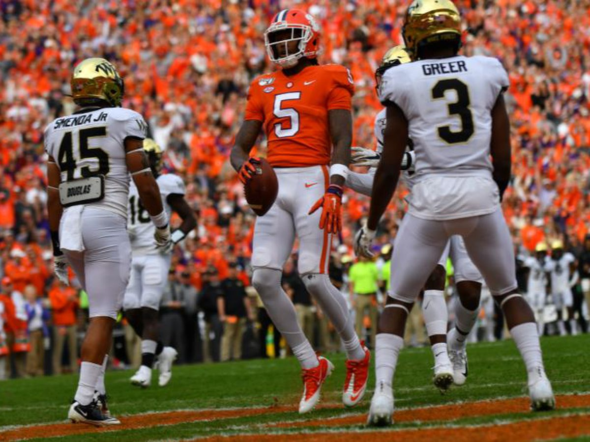 Lawrence Throws Career-High Four Touchdown Passes in 52-3 Win Over Wake Forest
