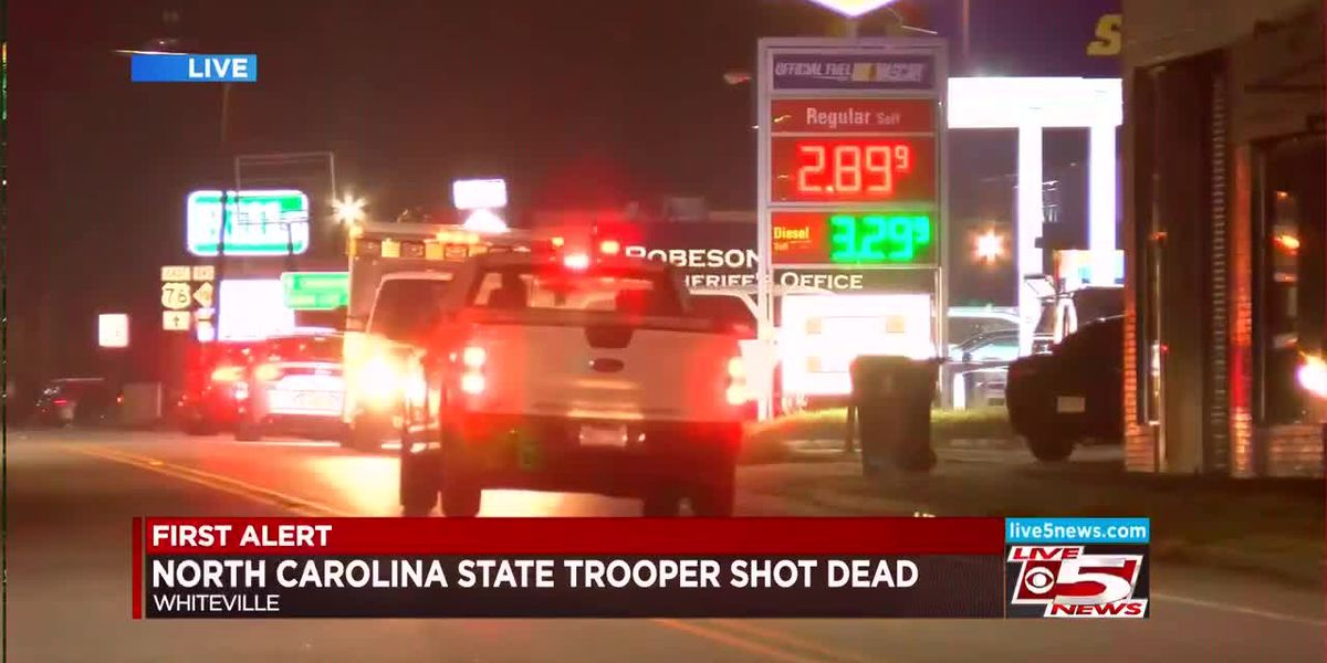 VIDEO: NC State Trooper shot to death, suspect in custody
