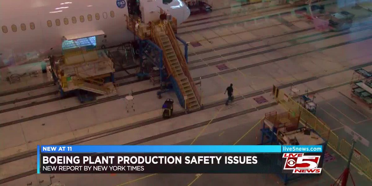 VIDEO: Boeing responds to accusations of negligence at North Charleston Boeing plant, faces lawsuit