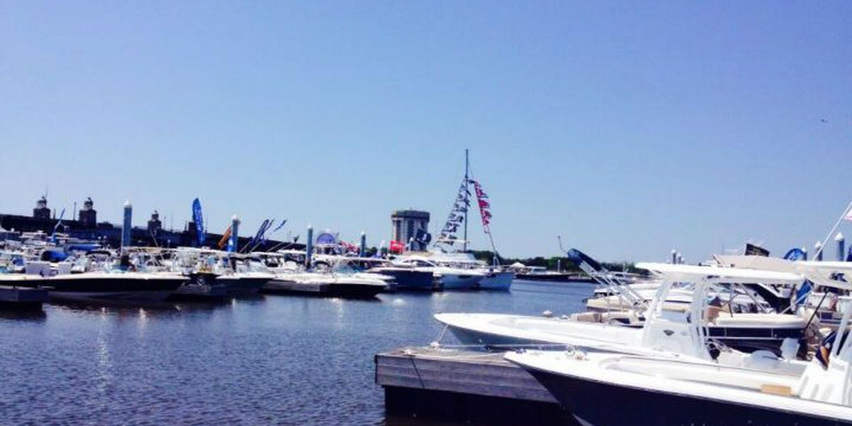In-water boat show lets boaters shop, test drive