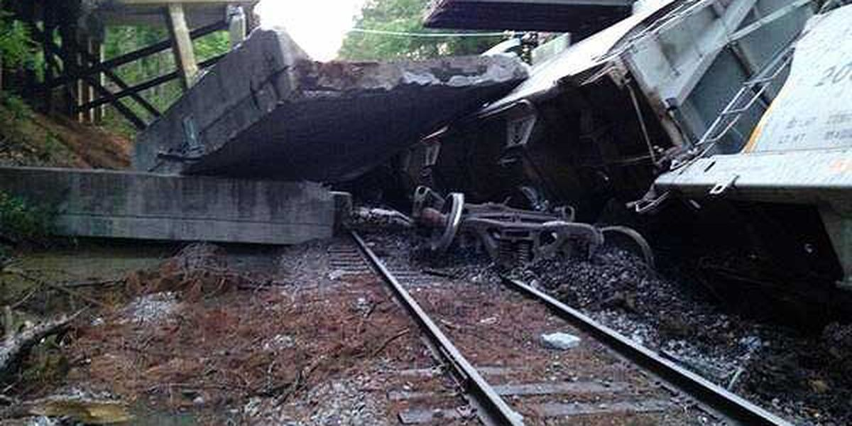CSX will pay to replace collapsed bridge in Berkeley County