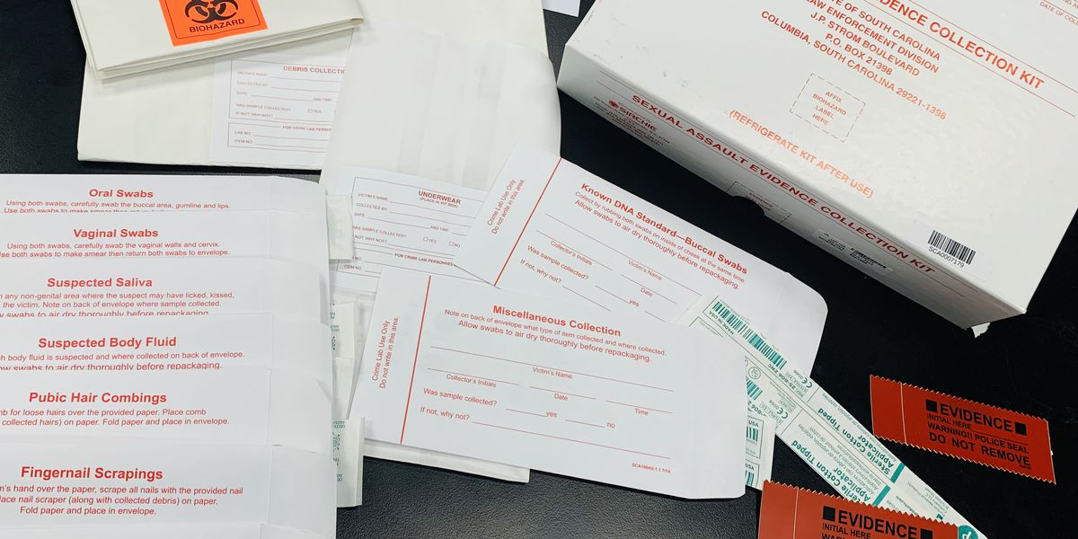 """SLED considers transition to """"envelope"""" containers for rape kit evidence"""