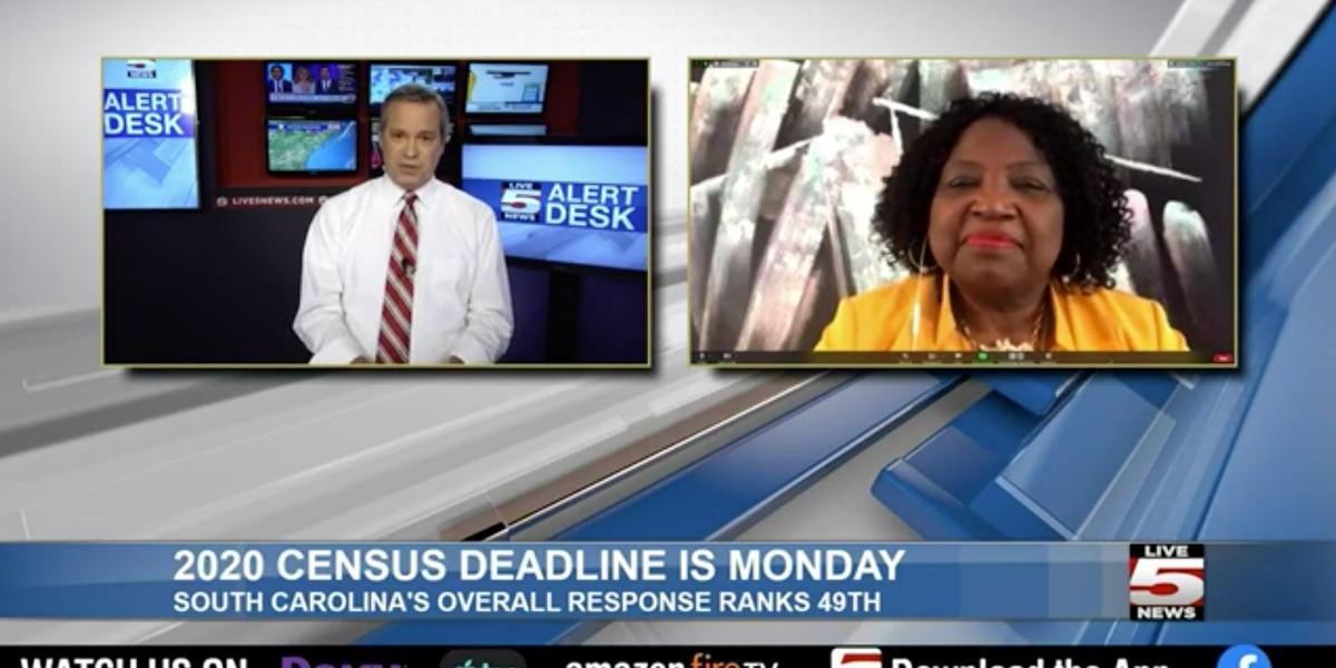 LIVE 5 ALERT DESK: Census Bureau representative speaks about the final push for the 2020 U.S. Census