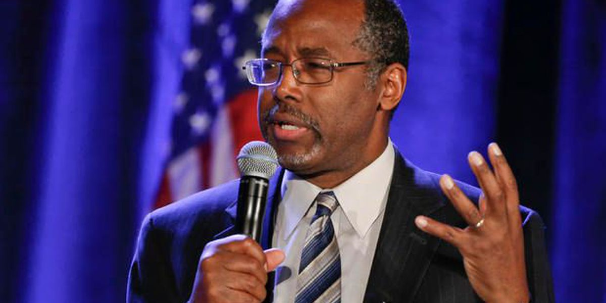 Presidential candidate Carson to make Lowcountry stops
