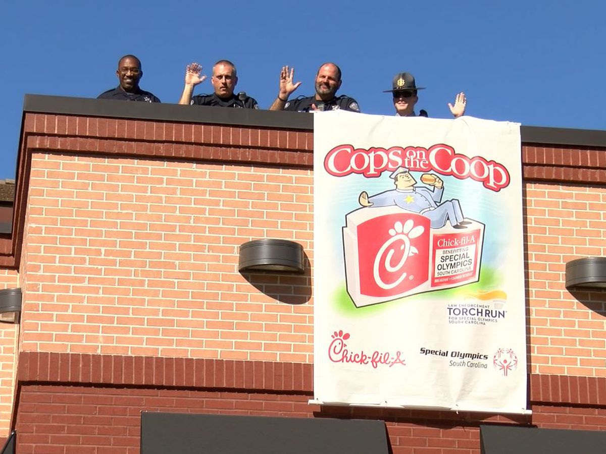 'Cops on the Coop' event raising money for Special Olympics