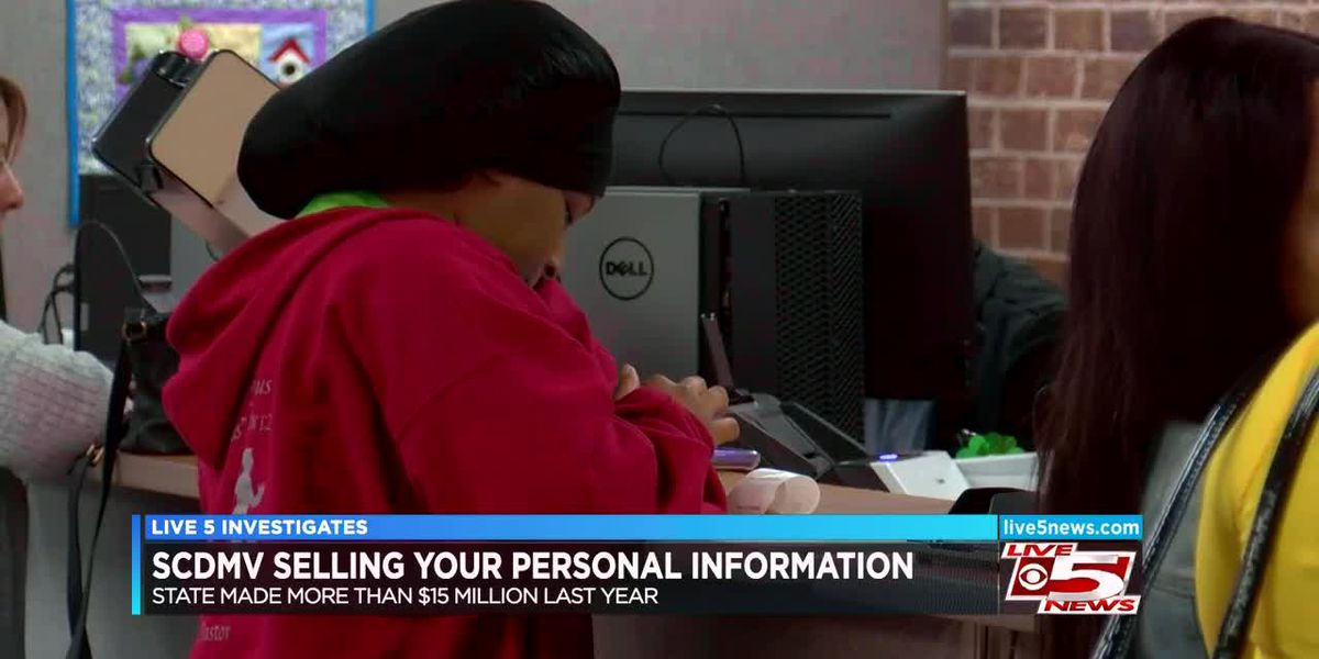 VIDEO: Live 5 Investigates: SCDMV selling personal info for millions of dollars