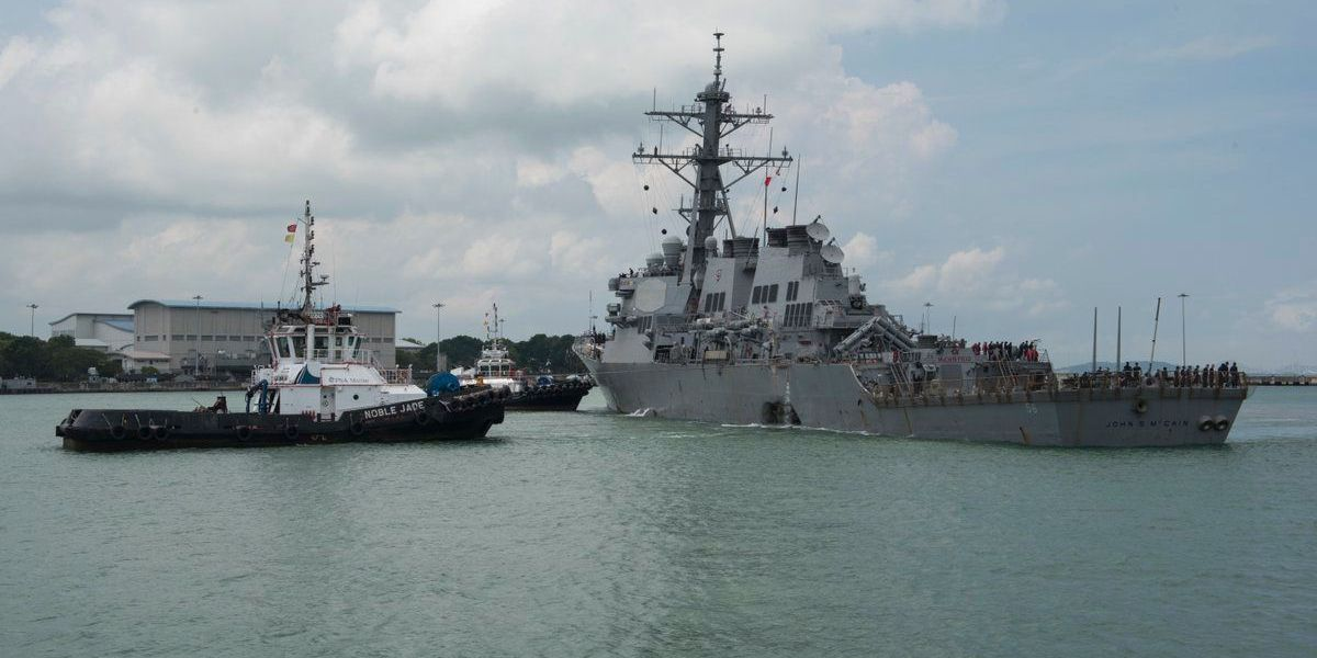 U.S. Navy recovers remains of missing sailors from USS John S. McCain