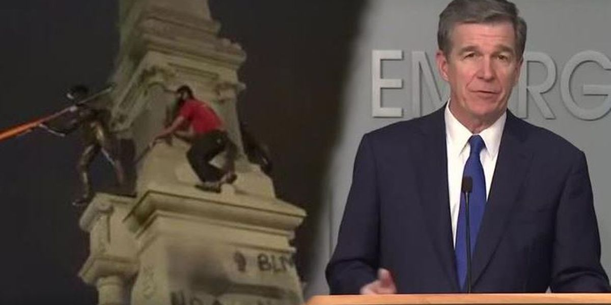 Gov. Cooper orders Confederate monuments moved from state grounds 'to protect public safety'