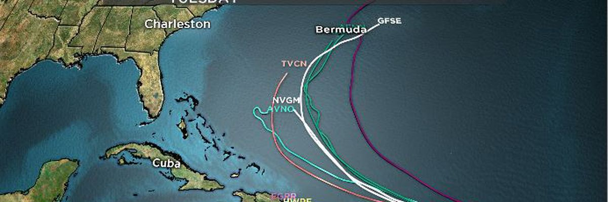 FIRST ALERT: Tropical Depression 10 forms in Atlantic