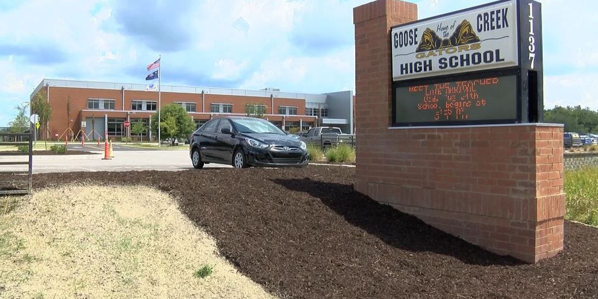Report: Student arrested after found with gun at Goose Creek High School