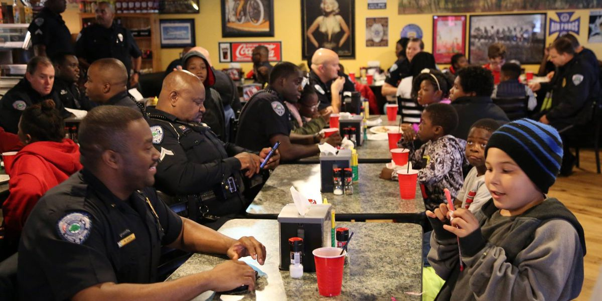 "N. Charleston Police host ""Kids and Cops"" event"