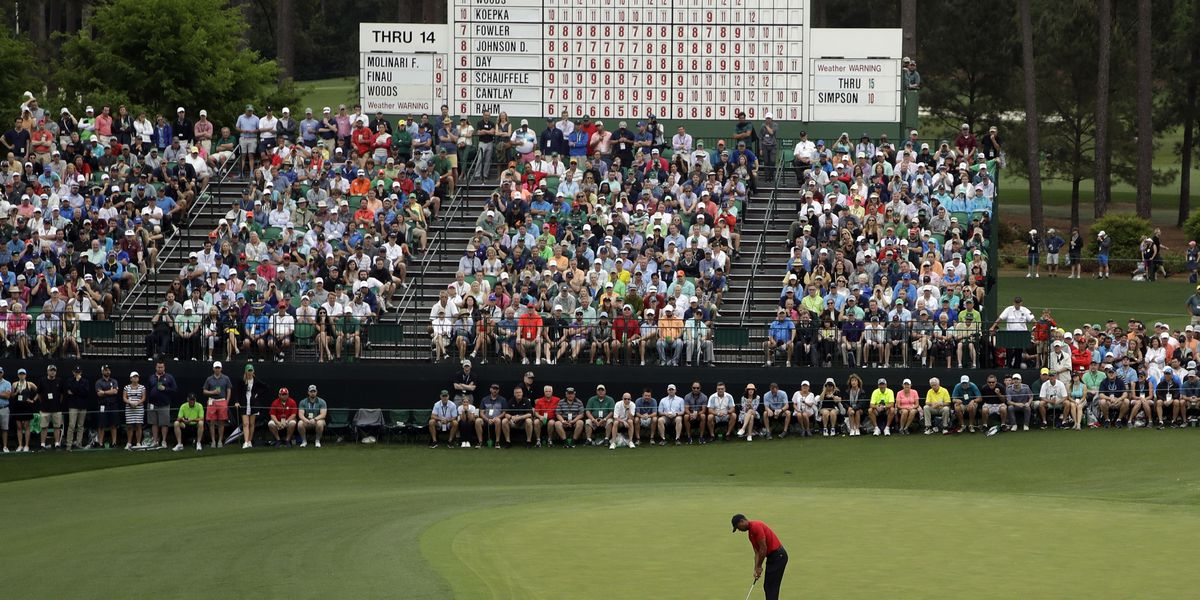 British canceled, Masters to November in major rescheduling