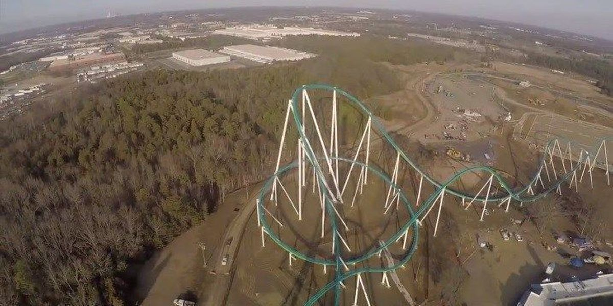 Carowinds shows off test run footage of Fury 325