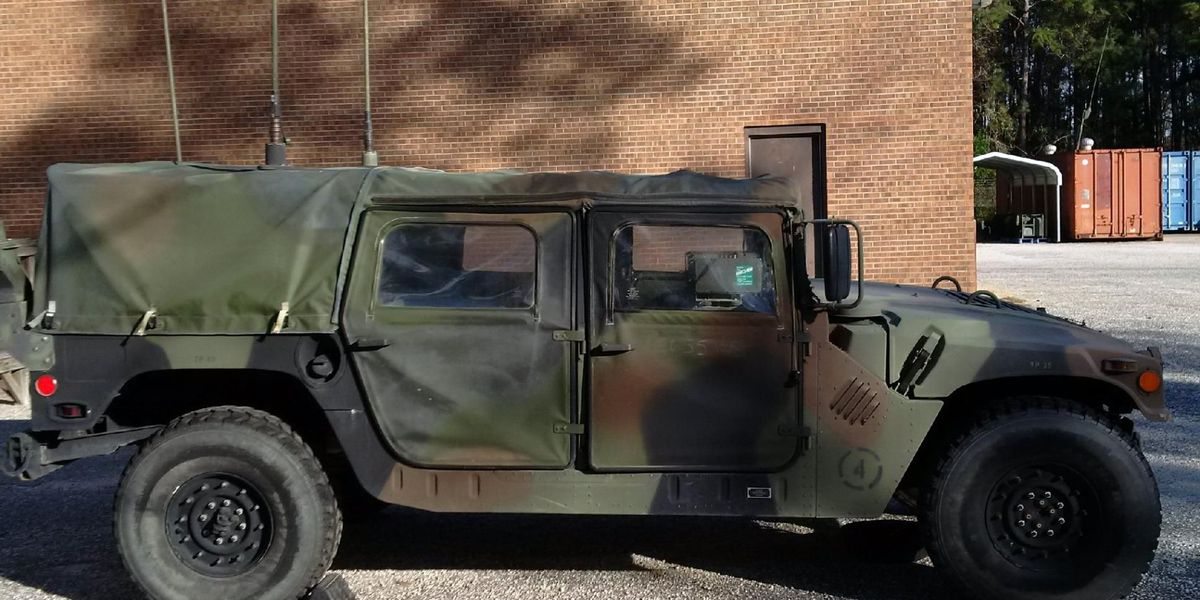 Deputies searching for Humvee stolen from SC National Guard armory