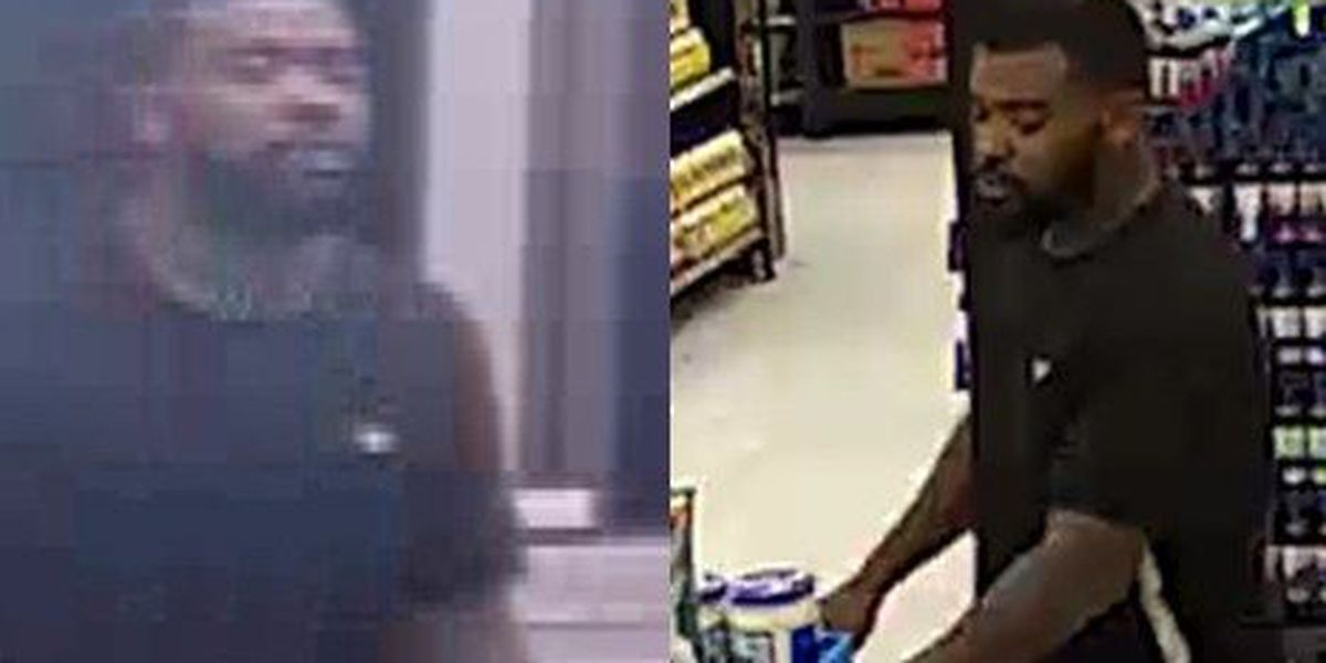 Police looking for man who may have info in Walmart shoplifting