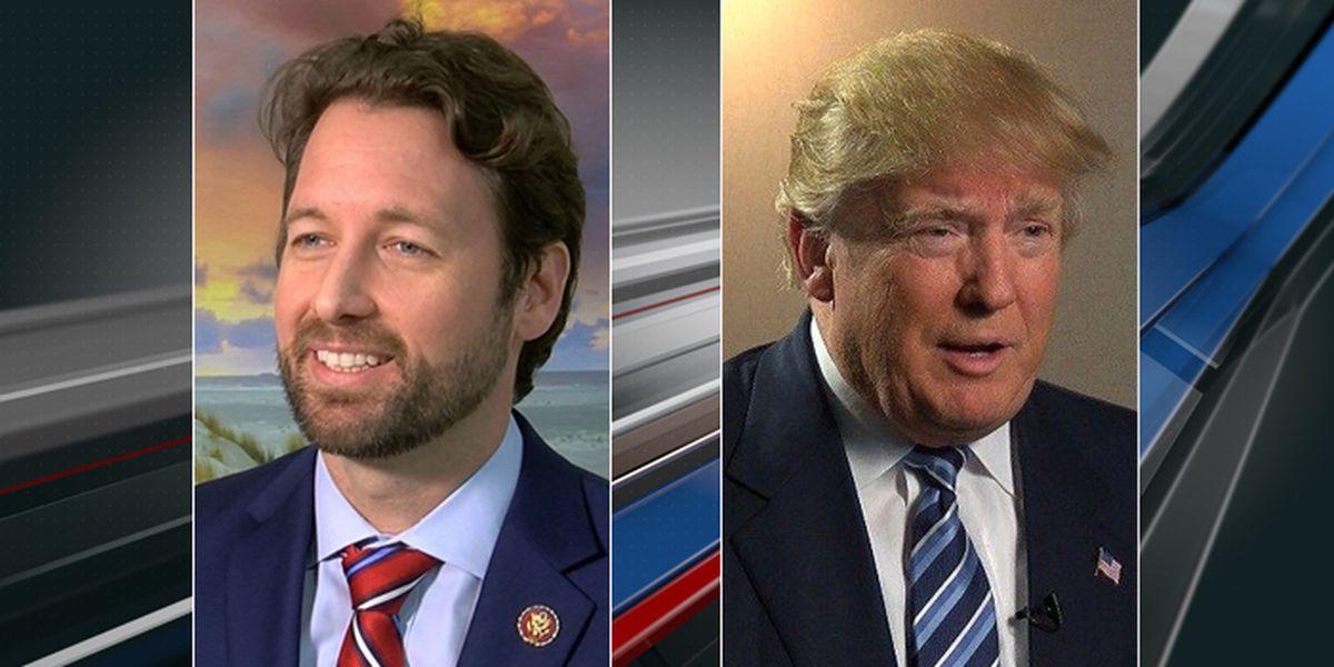 Congressman Joe Cunningham invites President Donald Trump to tour SC coastline
