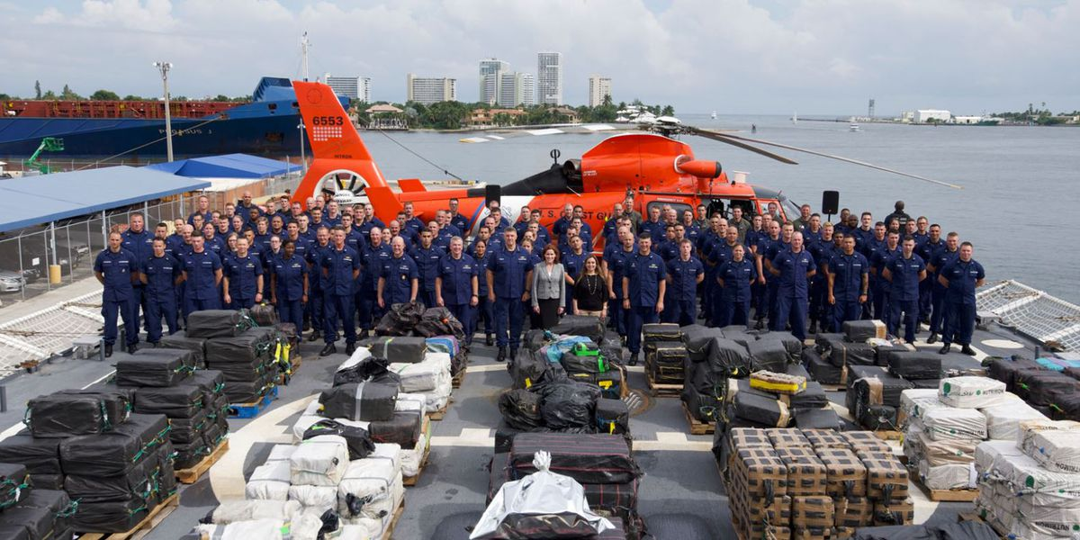Charleston-based Coast Guard cutter seizes more than 19,000 pounds of cocaine