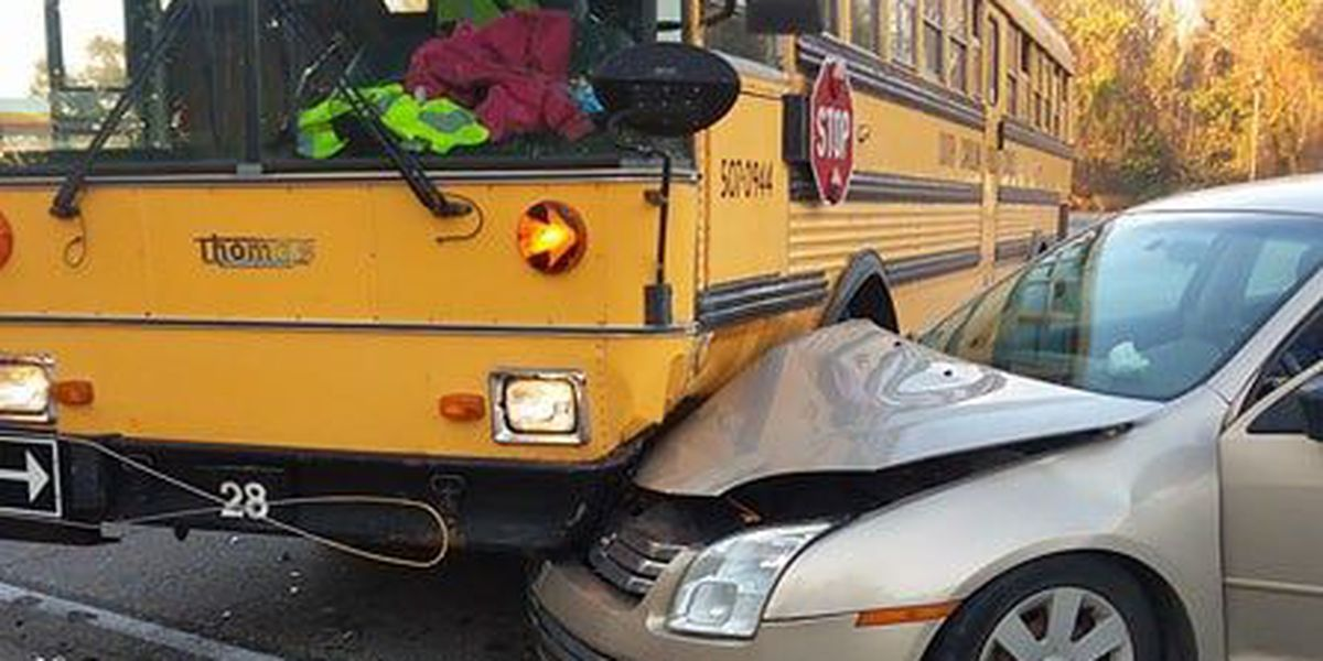 No injuries reported following school bus accident in Walterboro