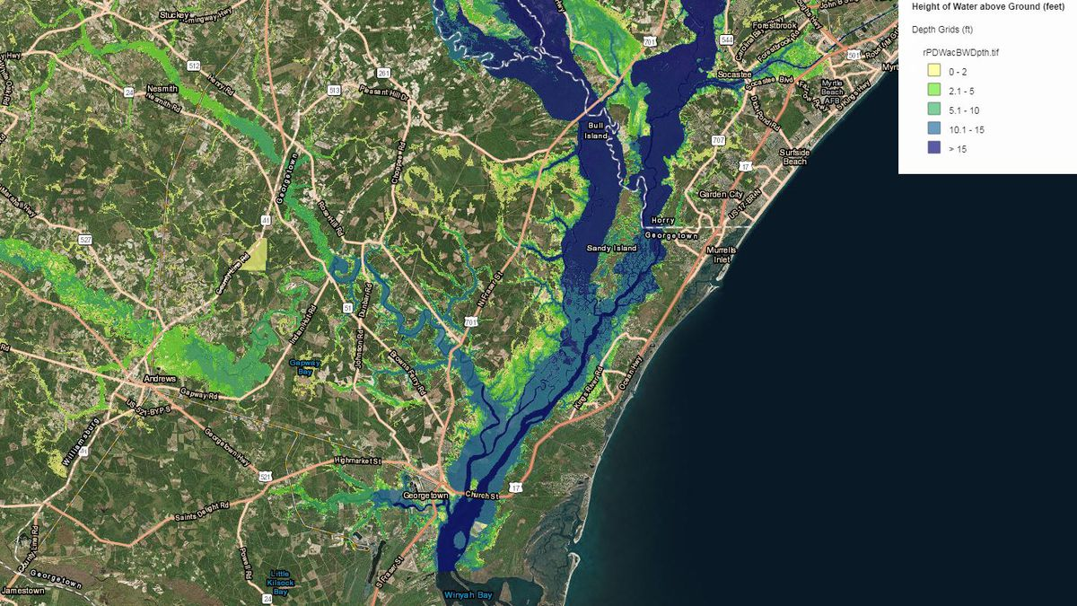 What you need to know to prepare for flooding in Georgetown
