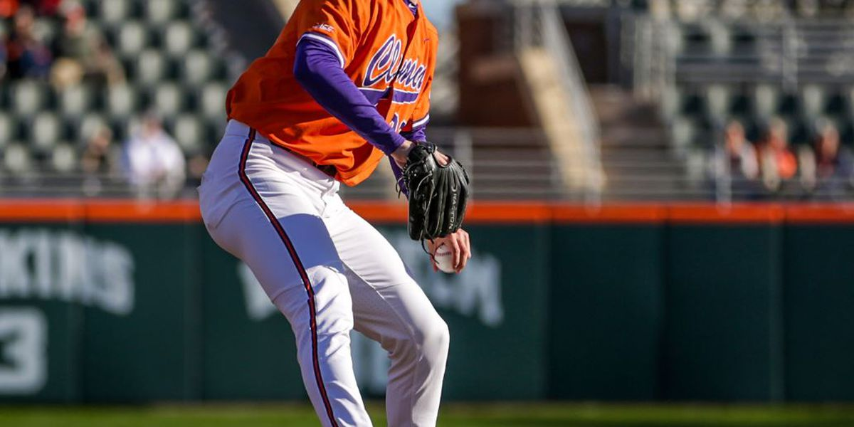 Weatherly Strikes Out 14 in Clemson's 2-0 Win Over Seawolves