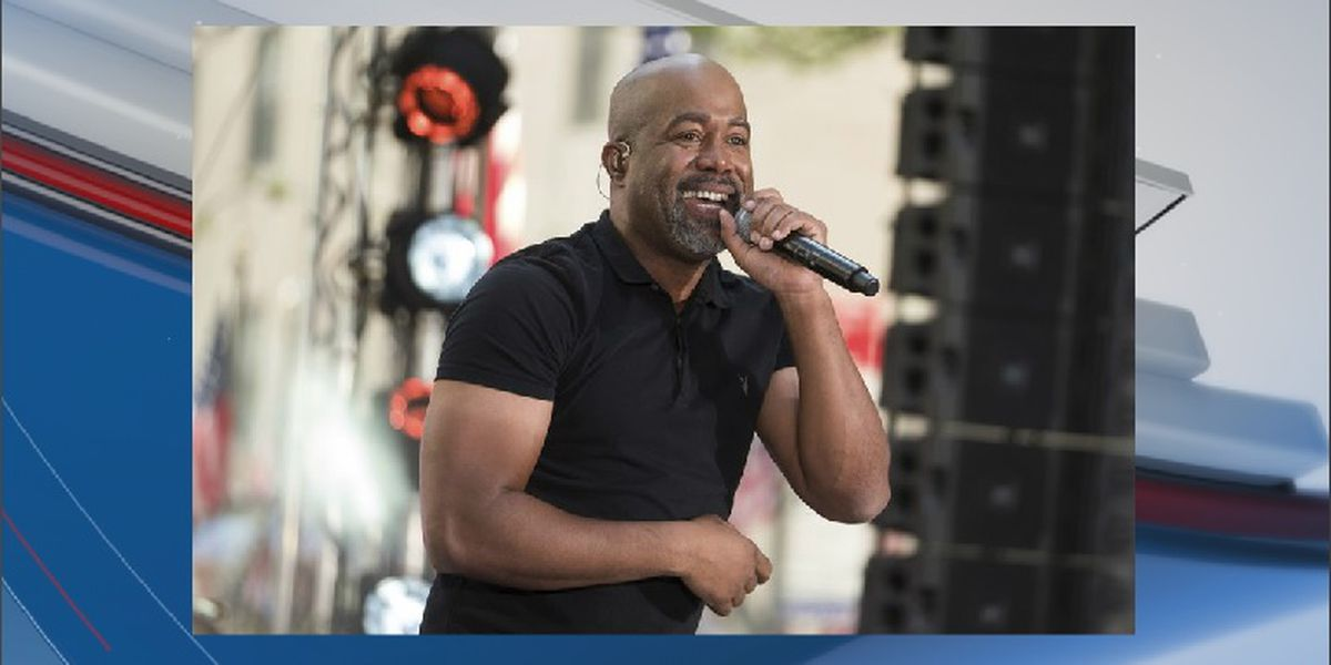 S.C. native Darius Rucker to headline 2020 CCMF