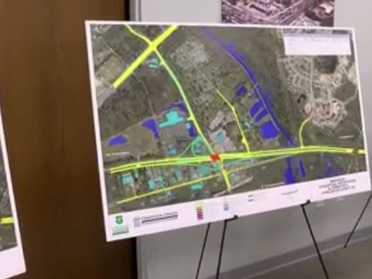 Nearly $100M project aims at alleviating traffic congestion on busy Johns Island, West Ashley road