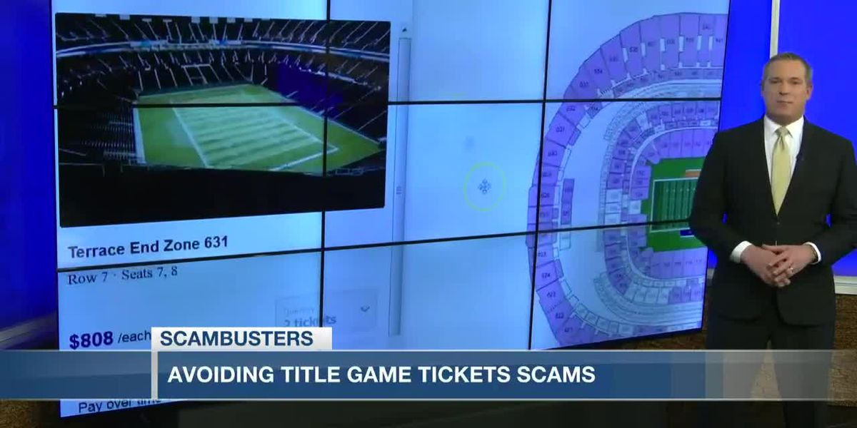 VIDEO: Live 5 Scambusters: Clemson fans need to be aware of fake National Championship tickets