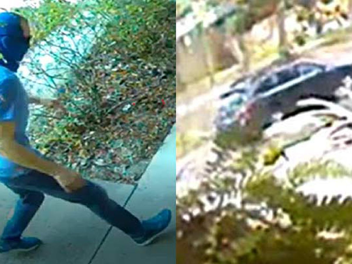Deputies seek help identifying man seen taking package from porch