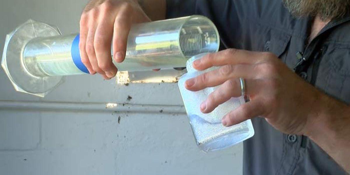 North Charleston distillery making sanitizing solution