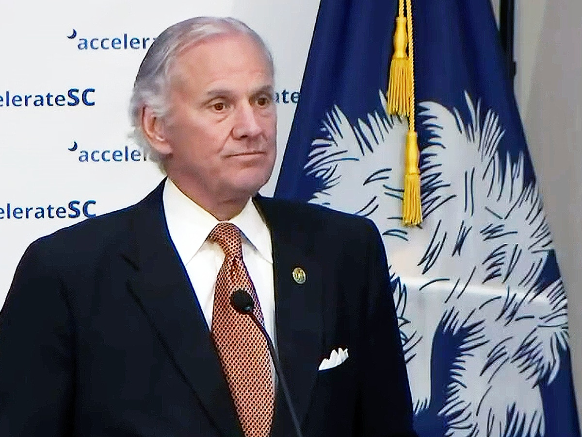 WATCH LIVE: Gov. McMaster answering questions following AccelerateSC meeting