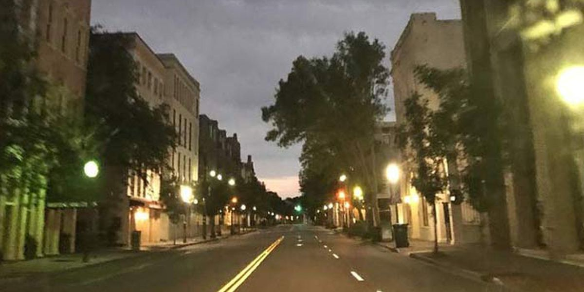 Charleston peninsula to go under curfew ahead of weekend protests