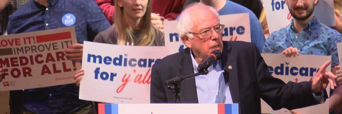 Sen. Bernie Sanders urges South Carolina to fight for Medicare for all at Saturday rally