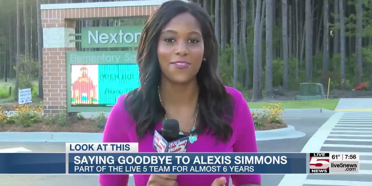 VIDEO: Saying goodbye to Alexis Simmons