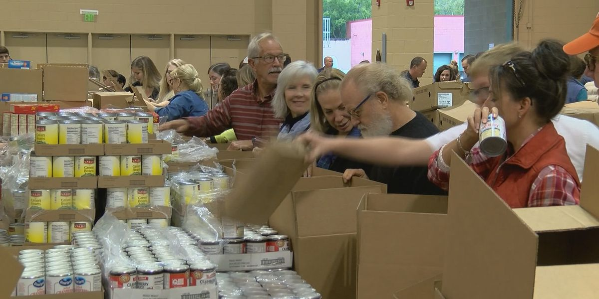 Charleston Basket Brigade asking for donations to help families this Thanksgiving
